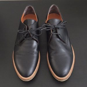 Everlane Black Oxford Shoes Size 7